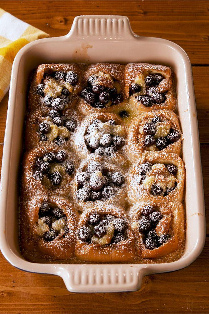 """<p>The base of these? HAWAIIAN ROLLS!</p><p>Get the recipe from <a href=""""https://www.delish.com/cooking/recipe-ideas/a27257493/pull-apart-blueberry-bread-pudding-recipe/"""" rel=""""nofollow noopener"""" target=""""_blank"""" data-ylk=""""slk:Delish"""" class=""""link rapid-noclick-resp"""">Delish</a>.</p>"""