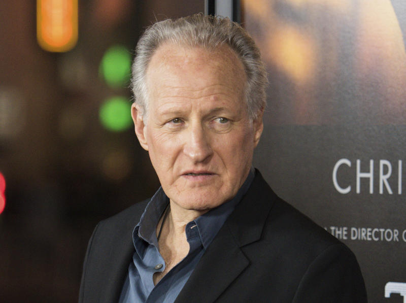 """FILE - In this Jan. 8, 2015 file photo, Michael Mann arrives at the world premiere of """"Blackhat"""" at the TCL Chinese Theatre in Los Angeles. Mann has directed many films including """"Last of the Mohicans,"""" """"The Insider,"""" and """"Heat,"""" starring Robert De Niro and Al Pacino. (Photo by Rob Latour/Invision/AP, File)"""
