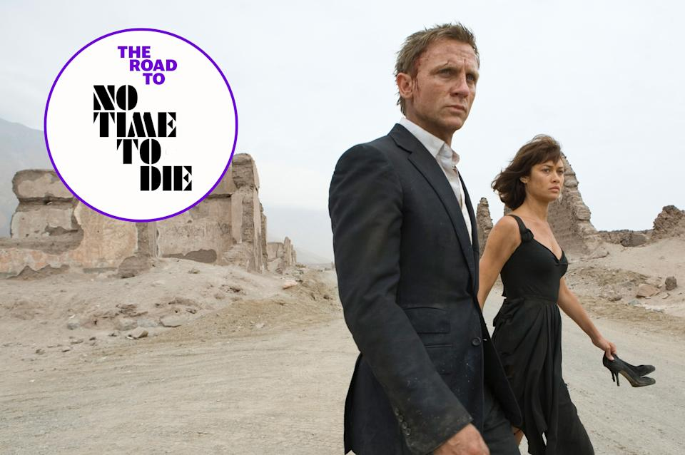 Quantum of Solace followed Casino Royale and had a troubled production. (MGM/EON/Sony Pictures)