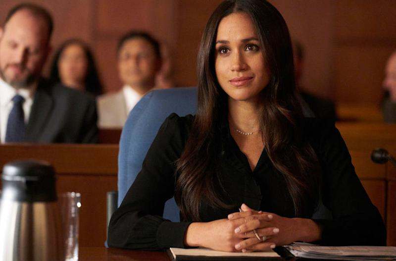 The actress appeared in 'Suits', playing paralegal Rachel Zane, for seven seasons [Photo: Getty]