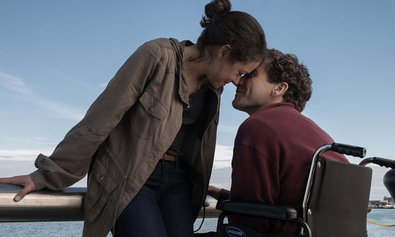 Tatiana Maslany and Jake Gyllenhaal in 'Stronger'. (Credit: Lionsgate)