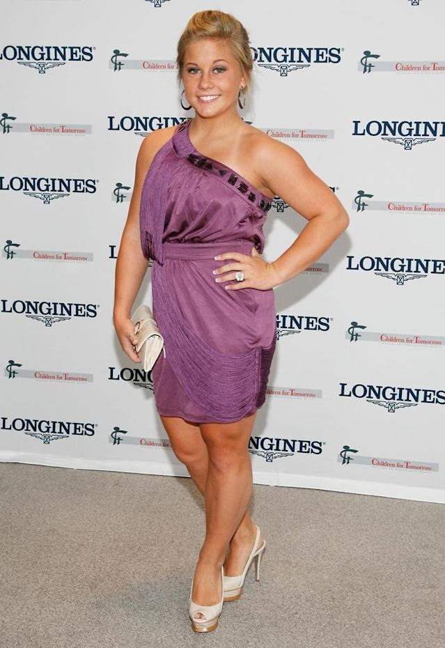 "U.S. Olympic Gymnast Shawn Johnson attends the ""Women Who Make A Difference"" Awards at Hearst Tower on September 9, 2009 in New York City."