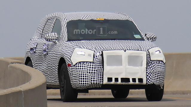 The design appears to borrow heavily from the Lincoln Aviator concept