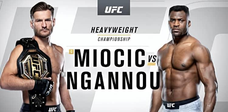 UFC 260 highlights and recap Stipe Miocic and Francis Ngannou