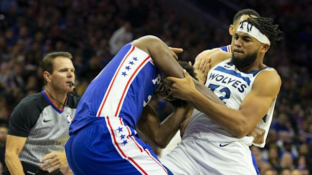After clashing on court on Wednesday, Joel Embiid and Karl-Anthony Towns took their feud onto social media.
