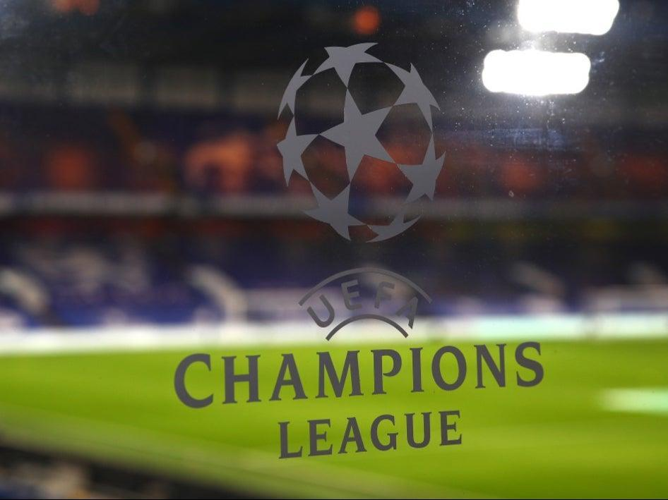 A general view of the Champions League logo (Chelsea FC via Getty Images)