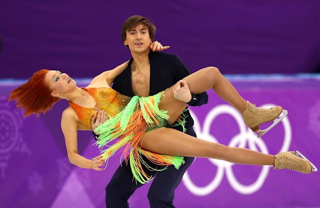 Russia's Tiffani Zagorski and Jonathan Guerreiro (Getty Images)