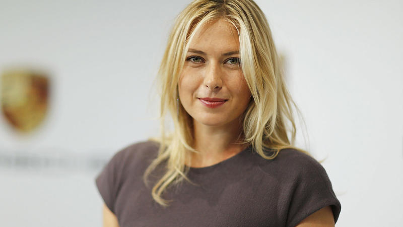 Maria Sharapova, pictured here during her tennis career.
