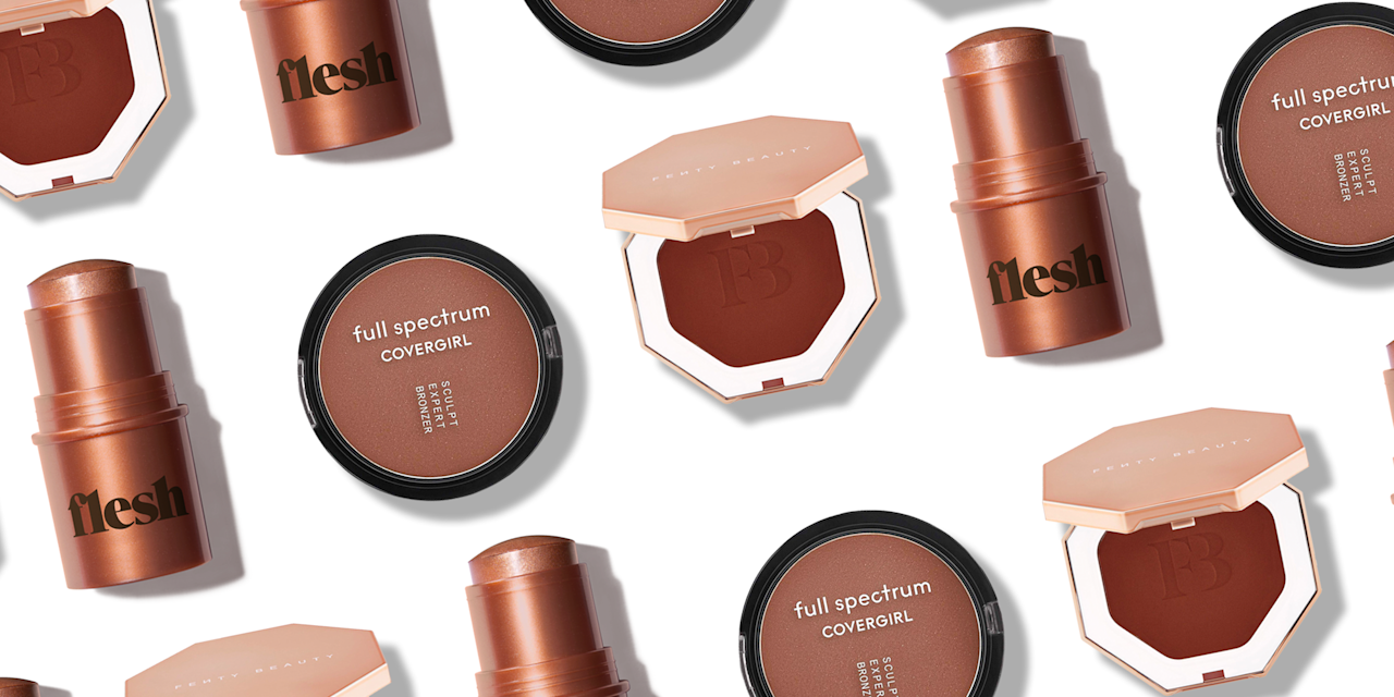 """<p>Picking a bronzer turns even the most practical person into Goldilocks of the (Virtual) Beauty Aisle: <a href=""""https://www.oprahmag.com/beauty/skin-makeup/g25827676/best-eyeshadows-dark-skin/"""" target=""""_blank"""">The shimmer</a> in this bronzer is <em>too big</em>. This powder is <em>too dry. </em>This color is <em>too orange</em>. The pickiness is justified. Finding a bronzer that is just right, and <a href=""""https://www.oprahmag.com/beauty/skin-makeup/a27635100/how-to-find-right-skin-undertone/"""" target=""""_blank"""">complements your undertone</a>, is hard—particularly for <a href=""""https://www.oprahmag.com/beauty/skin-makeup/g26595454/best-foundation-for-dark-skin/"""" target=""""_blank"""">brown-skinned beauties</a>. Some """"bronzers"""" look orange on our skin, or if they're too light, some formulas impart <a href=""""https://www.oprahmag.com/beauty/skin-makeup/g26719162/best-sunscreen-for-dark-skin-tones/"""" target=""""_blank"""">no glow-up at all</a>. Here we've done the work for you. We tested a mix of cream, powder, balm, and even skincare-infused bronzers in <a href=""""https://www.oprahmag.com/beauty/hair/g27547491/hair-colors-for-dark-skin/"""" target=""""_blank"""">shades that enhance dark skin</a>. </p>"""
