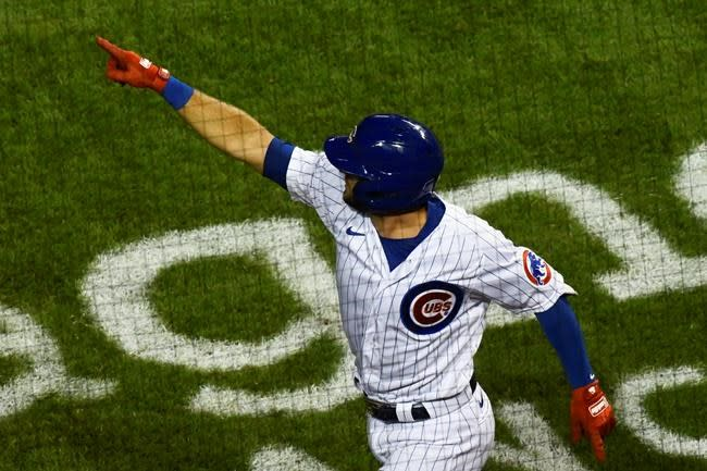 Bote, Cubs rally past Cardinals 5-4 for doubleheader split