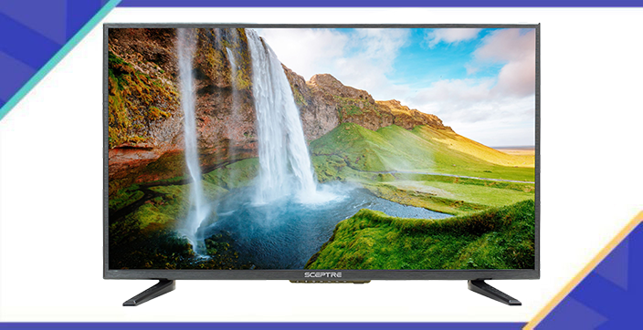 This TV is so lifelike, it's like you're part of the action. (Photo: Walmart)