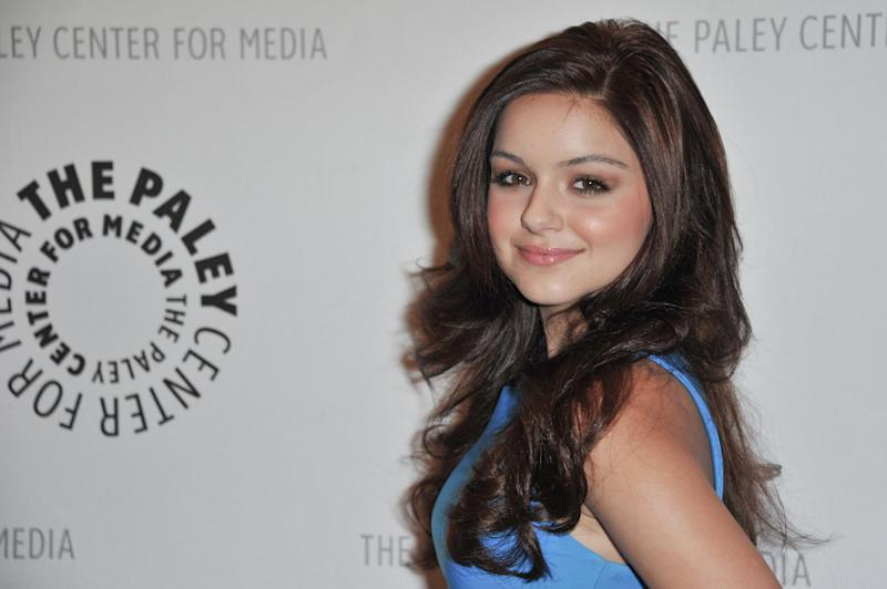 "FILE - In this Sept. 24, 2012 file photo, Ariel Winter attends the World Premiere of ""Batman: The Dark Knight Returns Part 1"" at The Paley Center for Media, in Beverly Hills, Calif. Winter's father, Glenn Workman, said Monday, Nov. 19, 2012, in a court filing in Los Angeles that he opposes a guardianship for his 14-year-old daughter. (Photo by Richard Shotwell/Invision/AP, File)"