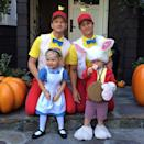 <p>This family charms us with their costumes every year, but 2013 was particularly epic. The Neil Patrick Harris and his husband David Burtka were Tweedledee and Tweedledum, while their twins Harper and Gideon dressed up as Alice and the White Rabbit. <br></p>