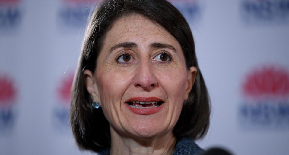 Gladys Berejiklian says there will be exemptions to restrictions for Christmas events. Source: AAP