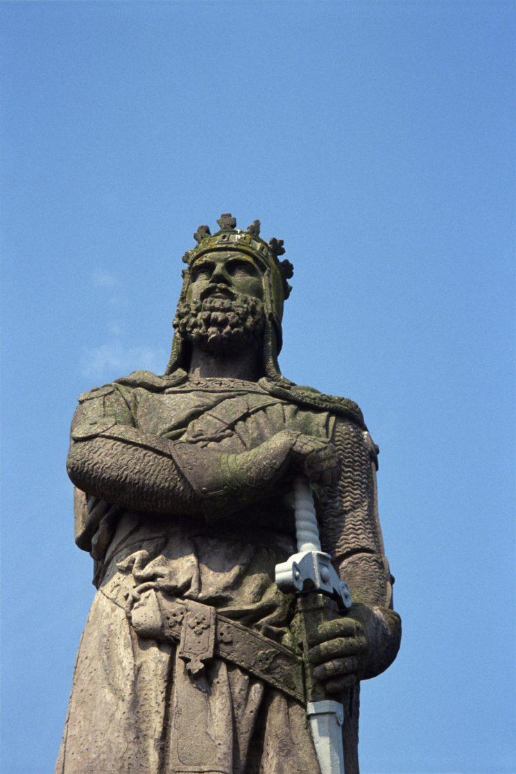 Scientists have recreated the face of Robert the Bruce using a cast of his skull