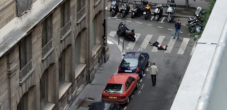 """A friend of the man who carried out a deadly knife attack in Paris was charged with """"associating with criminal terrorists"""" while two women were detained for questioning as the investigation gathers speed"""
