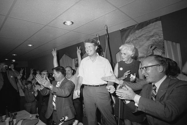 Former Georgia state Sen. Jimmy Carter in 1970. (Photo: John Storey/AP)
