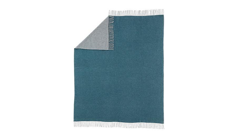 """Dolce Two-Tone Throw, $350; at <a href=""""http://www.dwr.com/product/dolce-throw.do?sortby=ourPicks"""" rel=""""nofollow noopener"""" target=""""_blank"""" data-ylk=""""slk:Design Within Reach"""" class=""""link rapid-noclick-resp"""">Design Within Reach</a>"""