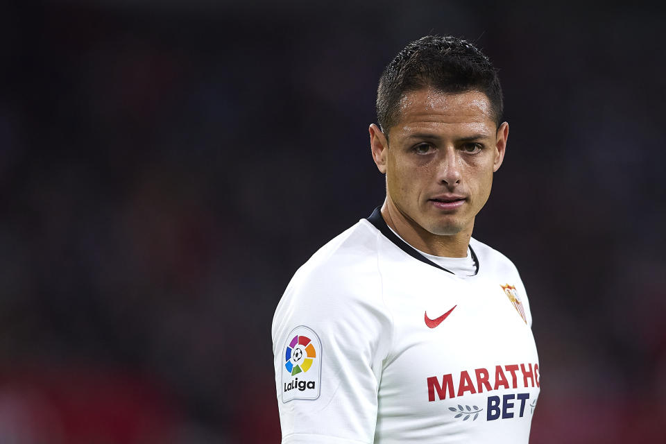 It appears Javier Hernández will become the newest star signing of the LA Galaxy. (Photo by Quality Sport Images/Getty Images)