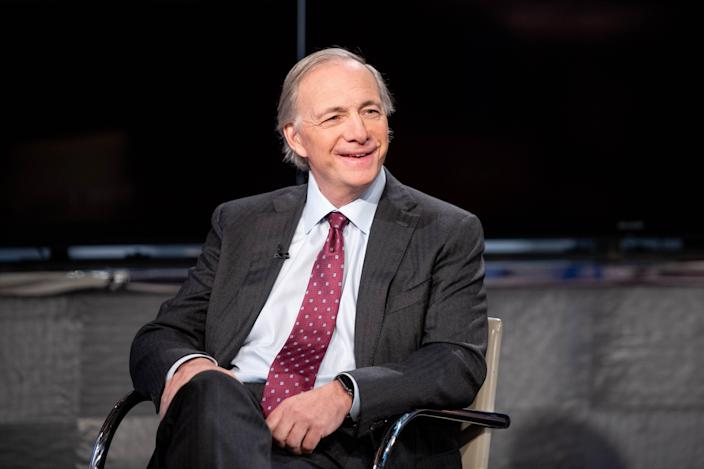 """NEW YORK, NEW YORK - NOVEMBER 30: Bridgewater Associated founder Ray Dalio visits """"Mornings With Maria"""" hosted by Maria Bartiromo at Fox Business Network Studios on November 30, 2018 in New York City. (Photo by Roy Rochlin/Getty Images)"""