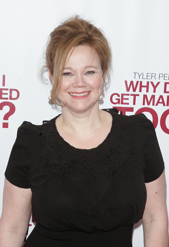 "<a href=""http://movies.yahoo.com/movie/contributor/1800361287"">Caroline Rhea</a> at the New York City premiere of <a href=""http://movies.yahoo.com/movie/1810073266/info"">Tyler Perry's Why Did I Get Married Too?</a> - 03/22/2010"