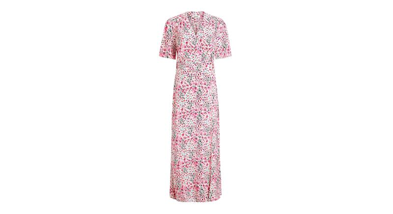 Somerset by Alice Temperley Orchid Animal Print Maxi Dress