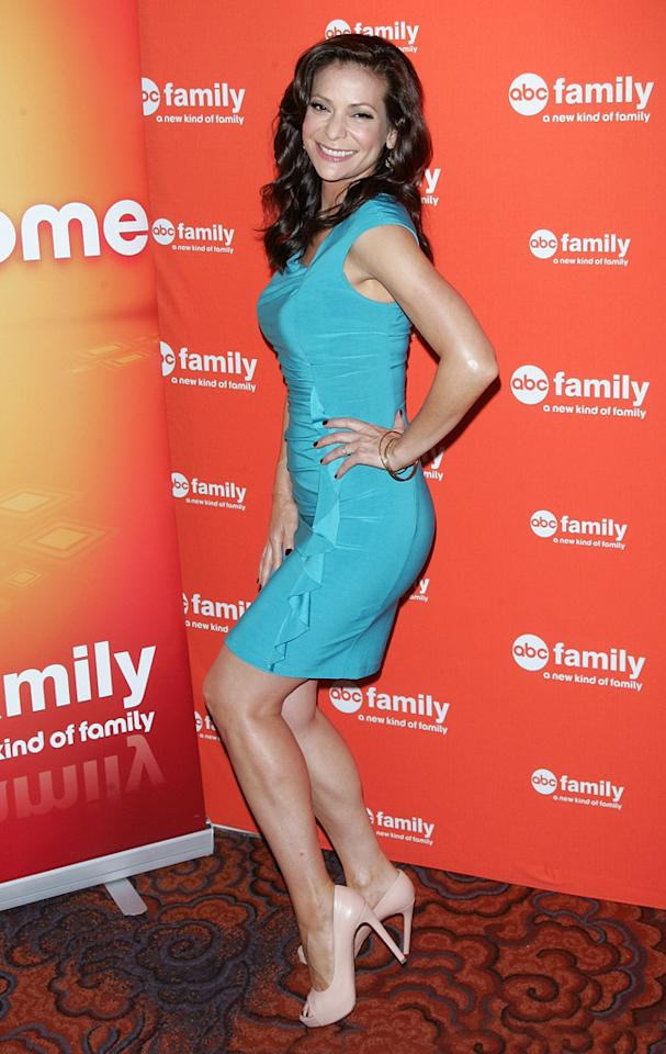"""Constance Marie (""""<a href=""""http://tv.yahoo.com/switched-at-birth/show/47111/"""">Switched at Birth</a>"""") attends ABC Family's 2012 Upfront Presentation at the Mandarin Oriental Hotel on March 19, 2012 in New York City."""