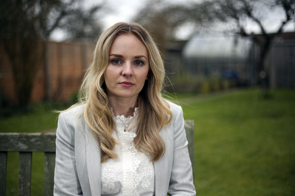 Lissie Harper was married to the late PC Andrew Harper. (Photo by Steve Parsons/PA Images via Getty Images)