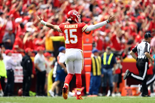 Patrick Mahomes was brilliant against the Baltimore Ravens. (Getty Images)