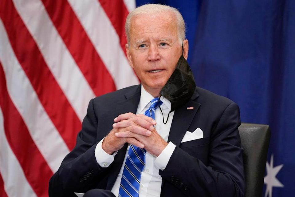 Biden (Copyright 2021 The Associated Press. All rights reserved)