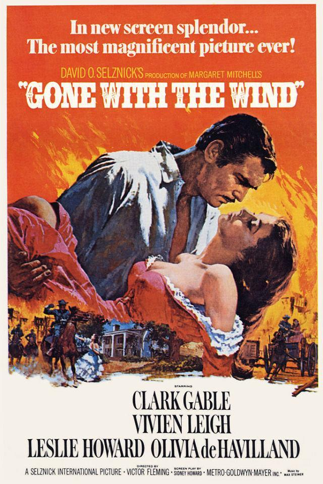 <p>The original director, George Cukor, was fired 18 days into shooting and was quickly replaced by Victor Fleming (who'd also directed <em>The Wizard of Oz</em><span>). In the thick of production, Fleming allegedly experienced a mental breakdown, and after threatening to drive his car off a cliff, took time off. During the interim, Sam Wood took the reins until Fleming recovered from his exhaustion. The final tally? Cukor, 18 days, Fleming, 93 and Wood, 24. </span></p>