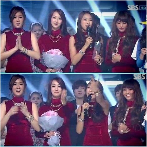 SISTAR tops in various music shows