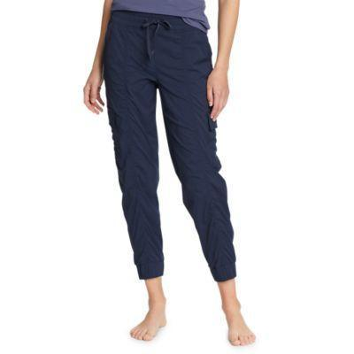 """<p><strong>Eddie Bauer</strong></p><p>eddiebauer.com</p><p><strong>$40.00</strong></p><p><a href=""""https://go.redirectingat.com?id=74968X1596630&url=https%3A%2F%2Fwww.eddiebauer.com%2Fp%2F23151065%2Fwomen&sref=https%3A%2F%2Fwww.womenshealthmag.com%2Ffitness%2Fg36719192%2Fbest-joggers-for-women%2F"""" rel=""""nofollow noopener"""" target=""""_blank"""" data-ylk=""""slk:Shop Now"""" class=""""link rapid-noclick-resp"""">Shop Now</a></p><p>Eddie Bauer's gear assortment is full of made-to-perform pieces, including this pair of joggers made of a nylon-spandex blend. What that means for you? A breezy feel for the hottest days, whether you're summiting a peak or getting some steps in on your favorite trail. </p><p>The sizing is inclusive, too, from XS to XXL and in petite, regular, and tall lengths. """"Great lightweight jogger pant! Love the cargo pockets and fabric detail,"""" says reviewer, LT. """"Great for every day or post-workout.""""</p>"""