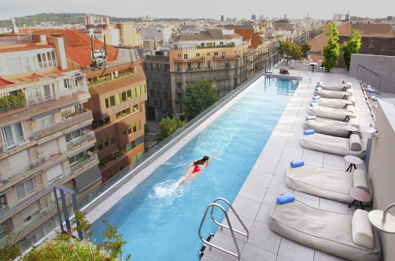 Who wouldn't want to wake up here? [Photo: Ohla Eixample Hotel]