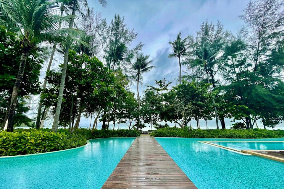 Rosewood in Phucket, Thailand, view of the pool