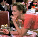 <p>Everyone had a clamshell clip in the '90s—us, our moms, Helen Hunt, etc. So when she tossed her hair into one in <em>As Good as It Gets</em>, it was pure relatable bliss. </p>