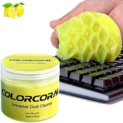 "<p><strong>ColorCoral</strong></p><p>amazon.com</p><p><strong>$7.99</strong></p><p><a href=""https://www.amazon.com/dp/B07GW9TJ3G?tag=syn-yahoo-20&ascsubtag=%5Bartid%7C10055.g.34275546%5Bsrc%7Cyahoo-us"" rel=""nofollow noopener"" target=""_blank"" data-ylk=""slk:Shop Now"" class=""link rapid-noclick-resp"">Shop Now</a></p><p>Since most of us have spent the past seven months working from home, there's a good chance you've carved out snack time or lunch in between Zoom calls. Problem is, it's likely that remnants of your meal have fallen onto your laptop and lodged themselves in between your keys. </p><p>If you're looking for an easy (and aesthetically pleasing!) way to keep your laptop clean, give ColorCoral a try. <a href=""https://www.tiktok.com/@toponlinefinds/video/6848802648091643141?_d=secCgsIARCbDRgBIAIoARI%2BCjwlcX3OFbxrcH4DGh4hk5Rpxnmx7WHrK4gvlShvN8B9%2BC1TpzRWM%2BBPGrBq2wTeaSQoDUj4iwU32XmE4fEaAA%3D%3D&language=en&preview_pb=0&share_item_id=6848802648091643141×tamp=1596032884&tt_from=copy&u_code=da594ad51chlja&user_id=6776763869618193413&source=h5_m"" rel=""nofollow noopener"" target=""_blank"" data-ylk=""slk:Simply roll the gel onto your keyboard,"" class=""link rapid-noclick-resp"">Simply roll the gel onto your keyboard,</a> and it will pick up dust and small particles (a.k.a crumbs.) Plus, you can continue to use the same gel until it changes colors.</p>"