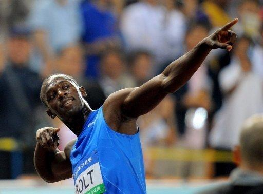 Bolt was one of the stars of the last Games in Beijing, winning gold in the 100m, 200m and 4x100m relay