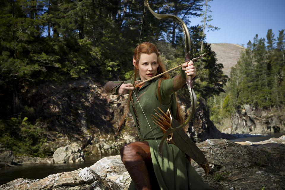 Evangeline Lilly as Tauriel (WB)