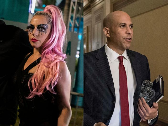 Lady Gaga and Cory Booker reportedly attended Eric Schmidt's secretive summit.