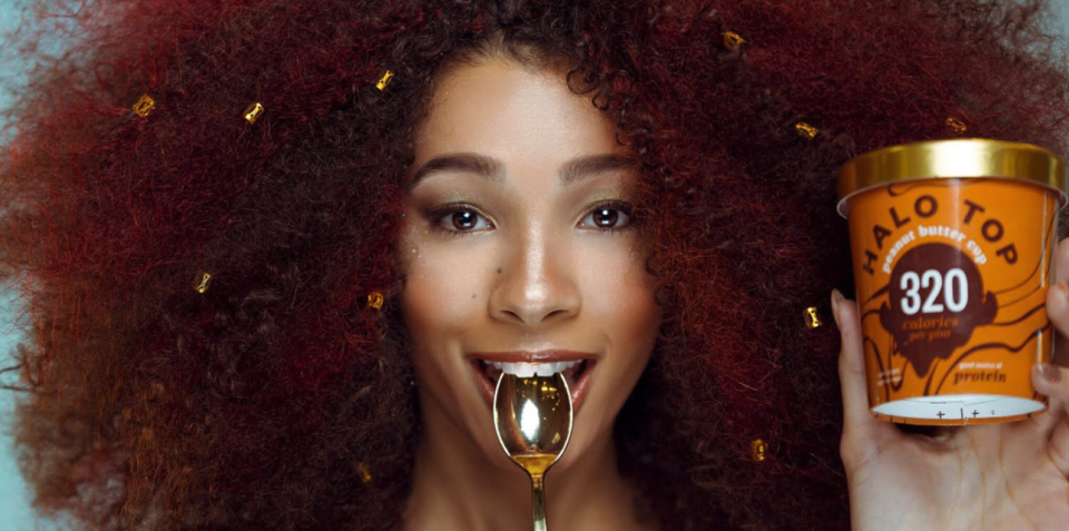 <p>This food-inspired hair color trend is almost good enough to eat. (Photo: Halo Top) </p>