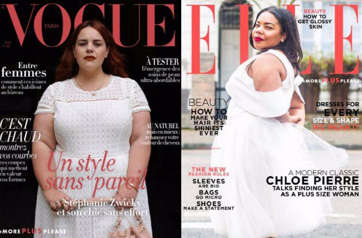 navabi showcases what magazine would look like if they have plus size models