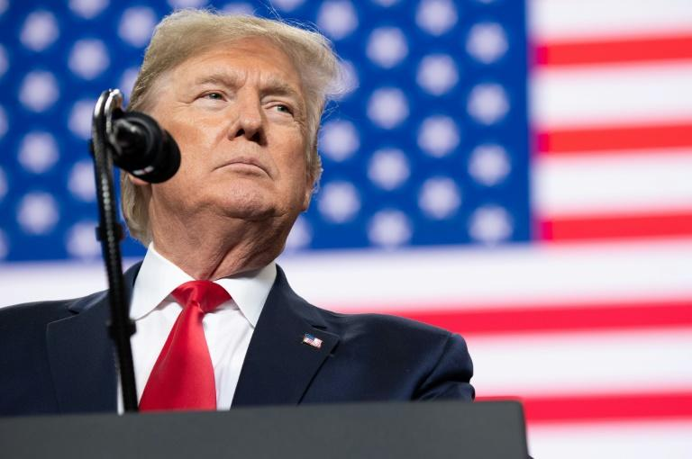 The pandemic forced US President Donald Trump to shelve his rally schedule, putting a serious dent in his reelection strategy