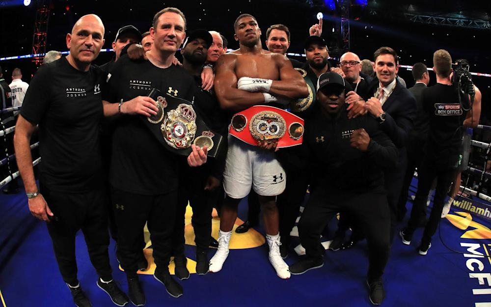 Anthony Joshua - Credit: GETTY IMAGES