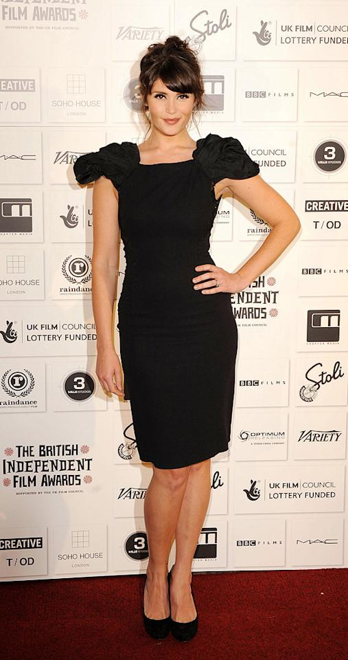 """<a href=""""http://movies.yahoo.com/movie/contributor/1809853072"""">Gemma Arterton</a> at the 2009 British Independent Film Awards in London - 12/06/2009"""