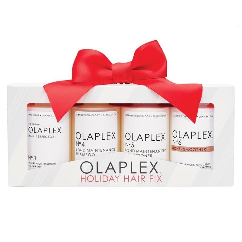 """Olaplex is a staple among hair pros (it protects and repairs hair from chemical damage), and exactly what your mom needs if she's been missing her monthly salon appointments during quarantine. $60, Sephora. <a href=""""https://www.sephora.com/product/olaplex-holiday-hair-fix-kit-P461482"""" rel=""""nofollow noopener"""" target=""""_blank"""" data-ylk=""""slk:Get it now!"""" class=""""link rapid-noclick-resp"""">Get it now!</a>"""