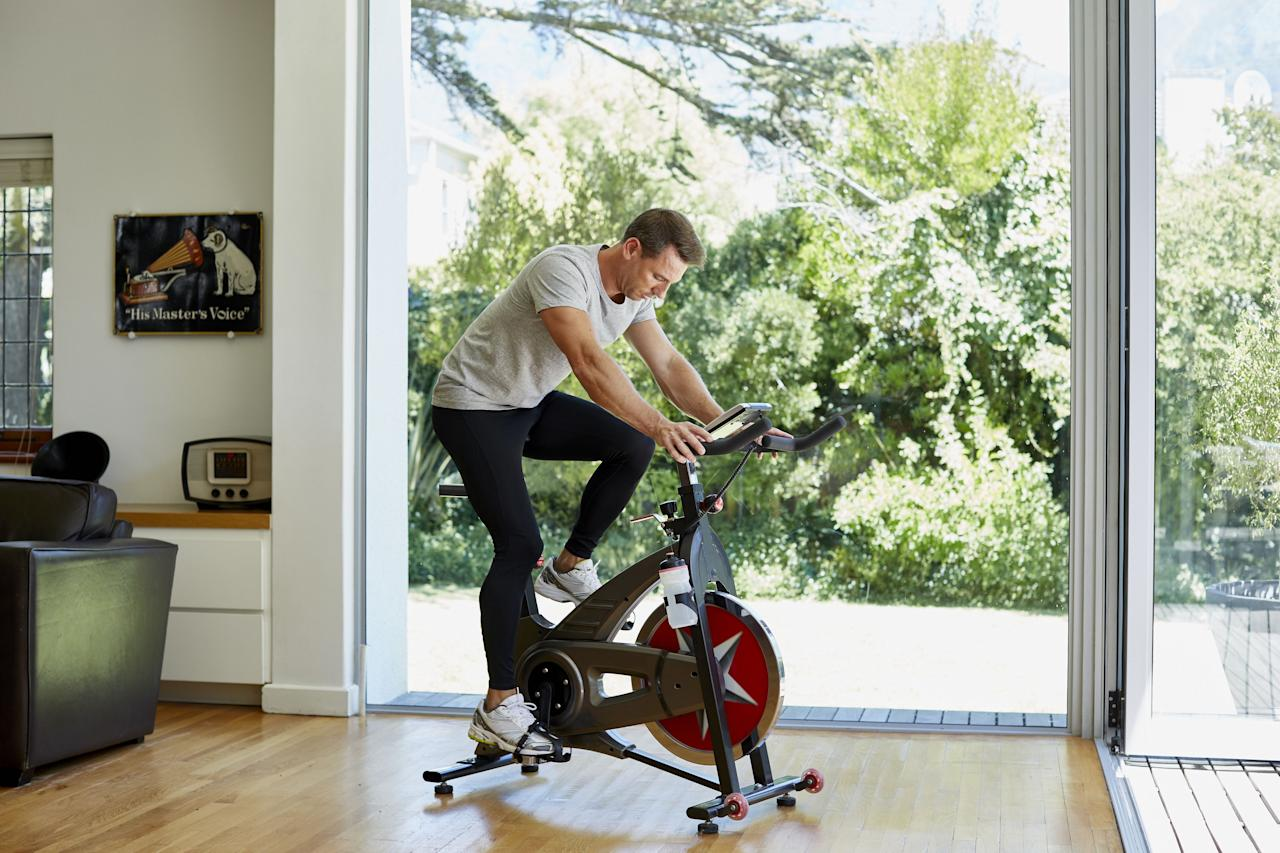 <p>Spin classes are all the rage, but not everyone wants to spend an hour pumping away in a dark, loud room surrounded by sweaty strangers.</p><p>If riding solo is more your speed, exercise bikes make it easy to pedal to a fitter you within the confines of your own home. Your personal gym should have a cardio option  -  and if you hate running, a bike gives you a perfect excuse to ignore treadmills entirely. </p><p>Check out these 8 options from top-tier brands for your at-home fitness setup. There's something for everyone here, from fitness neophytes to ultra-dedicated spin fanatics. All you have to do is take a seat and ride. </p>