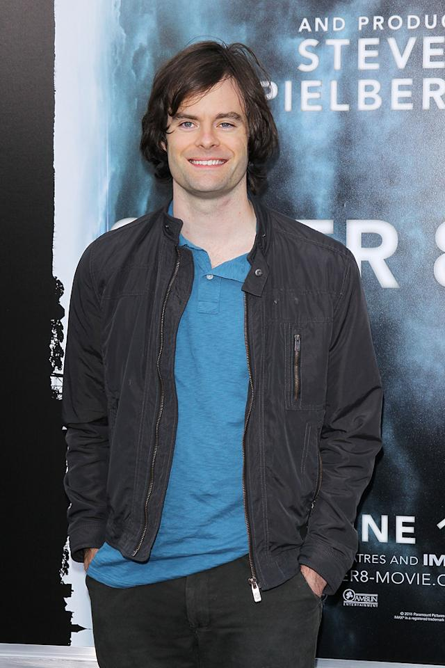 "<a href=""http://movies.yahoo.com/movie/contributor/1804890653"">Bill Hader</a> at the Los Angeles premiere of <a href=""http://movies.yahoo.com/movie/1800063512/info"">Super 8</a> on June 8, 2011."