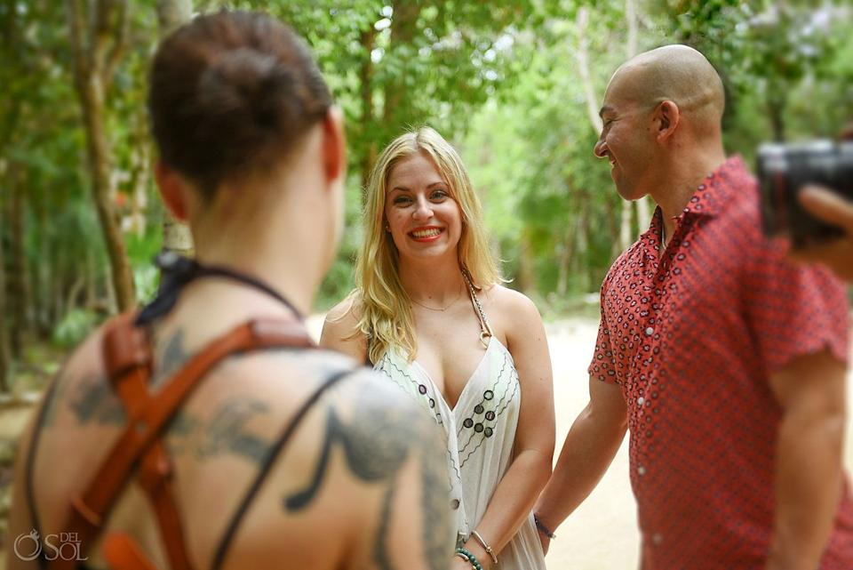 """""""How many girls get to say that their man cares THAT much about them, to go such depths to make her dreams come true?"""" the bride-to-be said. (Photo: <a href=""""https://www.instagram.com/delsolphoto/"""" target=""""_blank"""">Del Sol Photography</a>)"""