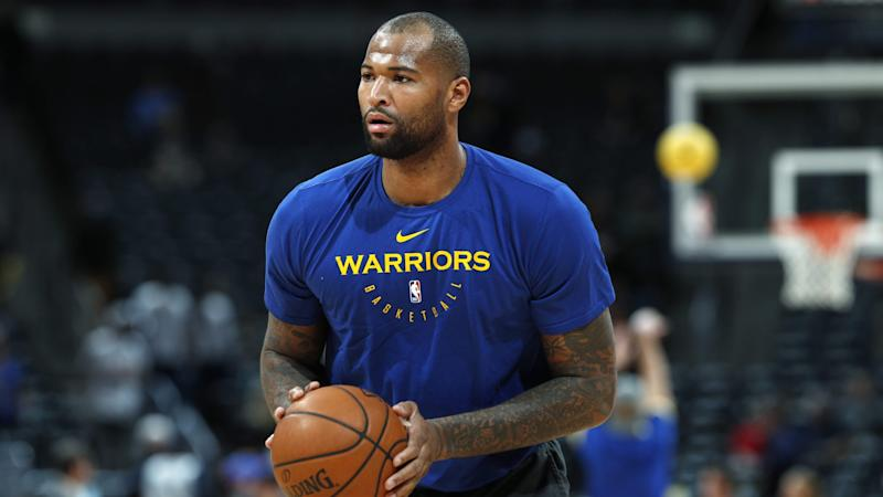 DeMarcus Cousins wears shoes to honor memory of Stephon Clark 3b20f1c3a